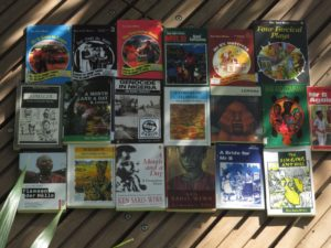 Some of Ken Saro-Wiwa's books